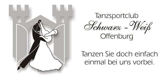Logo des Tanzsportclub Schwarz Weiß Offenburg